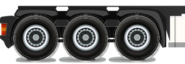 image of truck tyres